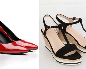 pantofi pumps sau platforme