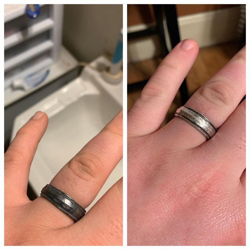 curatare inel argint